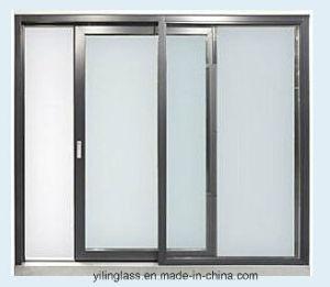 Wärme-reflektierendes energiesparendes schiebendes Glasaluminiumfenster