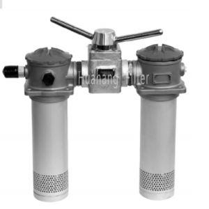 Duplex SRFA tanque montado Mini-Type Série do filtro de retorno dos Filtros de Óleo Hidráulico