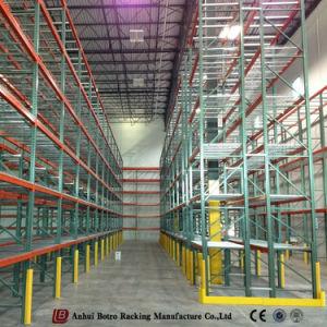 Для тяжелого режима работы склада стальной поддон для хранения полки цена для монтажа в стойку
