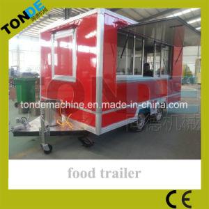 이동할 수 있는 음식 차 전기 음식 트럭