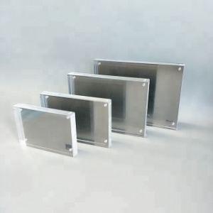 도매 연결 고품질 투명한 플렉시 유리 소형 그림 경제 공간 5X7 자석 아크릴 사진 프레임