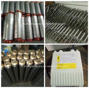 3.5 pulgadas a 1 HP monofásica de alta presión de la bomba de pozo