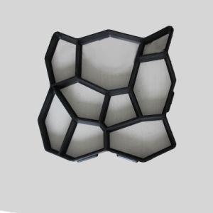 Plastic Concrete het Bedekken van de Steen van de Injectie DIY Vorm voor Verkoop