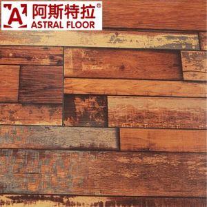 12mm Unilin registrado haga clic en la superficie de la textura de madera real pisos laminados (AST44).