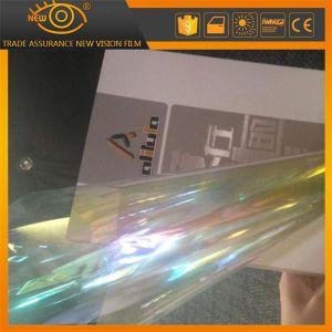 Transparente para a janela Camaleão Roxo Película Solar