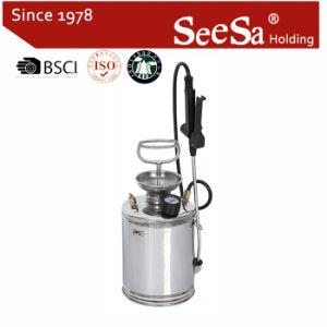 4L spruzzatore manuale della mano dell'acciaio inossidabile SUS-304 di compressione antiruggine della pressione dell'aria (SX-CS18004)