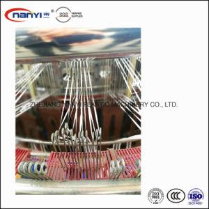 Energiesparender intelligenter Hochgeschwindigkeitsdoppelventilkegel-Typ Plastikkreiswebstuhl für pp.-DIE PET gesponnene Beutel-Herstellung