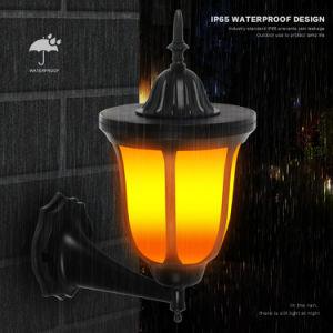 Iluminación de exterior Lámpara de linterna solar para patio jardín de césped de paisaje