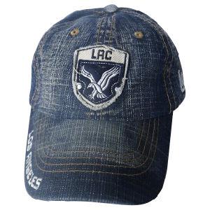 Jeans lavados Dad Hat Cap com logotipo de Nice