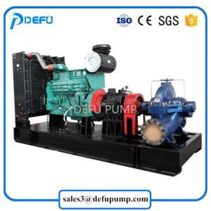 Haute qualité entraîné par moteur diesel de cas de fractionnement de l'eau de l'irrigation de la pompe centrifuge