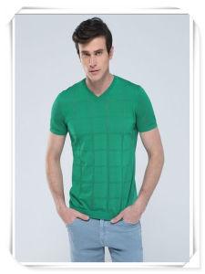V il nuovo bicchierino di colore verde di promozione del collo 2015 collega la maglietta con un manicotto