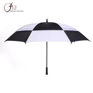 Preto e branco de negócios profissional Sports Golf Umbrella