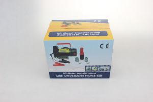 12V/24V DCの電気ディーゼル油の転送ポンプ45L/Minバイオディーゼルの燃料の流れメートル