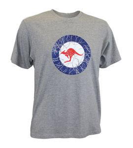 네클라인 호주 탄력 있는 남자의 면 t-셔츠