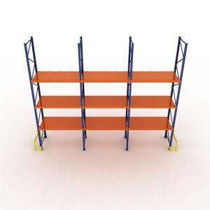 Faisceau de roulement en aluminium étagère de rack système en rack de stockage