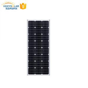 1つのLEDの太陽街灯LiFePO4電池LEDの街灯50Wのすべて