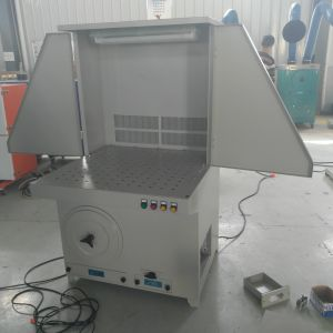 Colector de Polvo industriales ciclones turbo con la Mesa o Table-Board