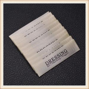 De tela personalizadas etiquetas para prendas tejidas para ropa