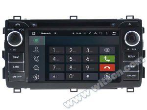 Toyota Auris 2013년을%s Witson 인조 인간 5.1 차 DVD GPS