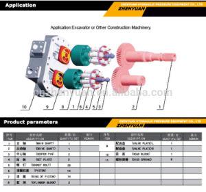 K3V140 K3V63 K3V112 K3V180 K5V140 K7V63 K5V280 partes separadas da Bomba Hidráulica