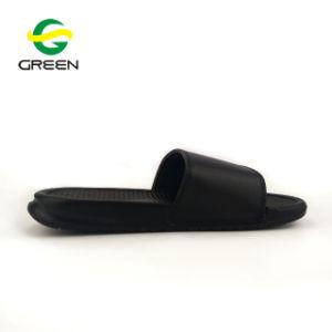 Новейшей конструкции Greenshoe мужская благоухающем курорте слайд обувь ПВХ благоухающем курорте пользовательское слайд-тапочки мужчин слайд сандалии