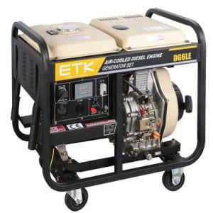 5kwは開いたタイプディーゼル電気発電機をホーム使用する