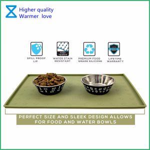 2018 heet-Verkoopt het Voeden van het Huisdier Matten Van uitstekende kwaliteit voor de Katten van de Hond met Milieuvriendelijke Materialen