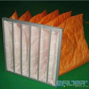 Filtro a sacco Pocket per il filtro medio da risparmio di temi di HVAC