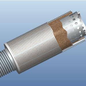 De Pijp van het Scherm van de Draad Wrappedscreen/Wedge van het Scherm Pipe/Wire van Johnson van het roestvrij staal