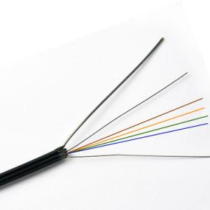 2 de Optische Kabel van de Vezel van de Daling Core/4cores/6cores FTTH