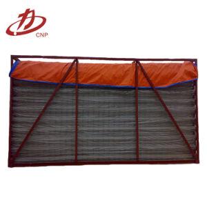 Jaula industrial del soporte del bolso de filtro del venturi del colector de polvo