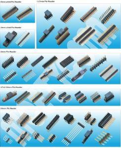 Doppelreihen-gerader Typ Pin-Vorsatz des China-Lieferanten-pH 2.54