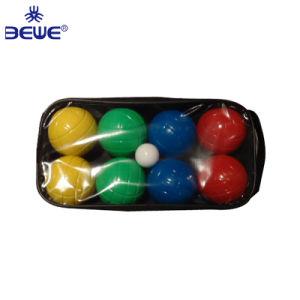 Ecológico cheio de água de plástico Bocce Personalizado Bocce ball situado na caixa arborizado