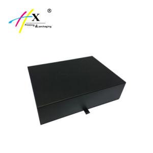 La impresión personalizada de papel cartón de embalaje Caja de regalo ropa magnético
