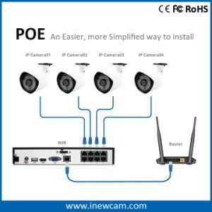 1080P Poe IRL de Camera van IRL IP van de Optische Vezel van de Kogel IP66