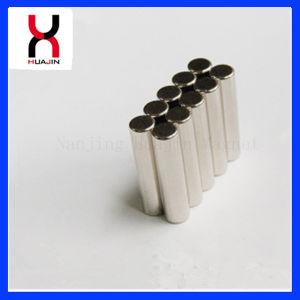 N42 Super cilindro pequeño imán de neodimio para altavoz