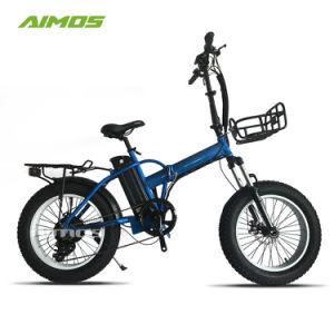 48V 500W de la grasa e bicicleta plegable de neumáticos