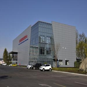 Planta de Energía de la estructura de acero Taller/edificio de Ingeniería Pre