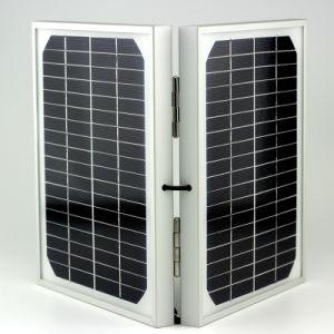Indicatore luminoso di inondazione impermeabile del LED della lampada solare esterna del proiettore con il comitato solare