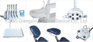 Classic sillón dental unidad con el funcionamiento del sensor de luz LED