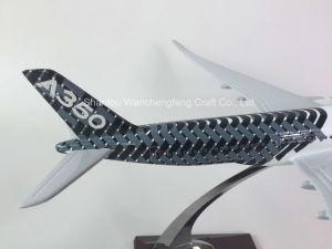 Новый самолет Airbus A350 Дом цветовой плоскости Polyresin модели