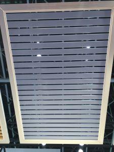 Aluminio en el techo de metal C85+C15 Panel tira de material de construcción de techo