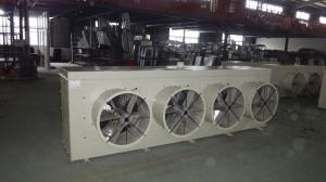 Refroidisseurs d'air évaporateur de réfrigération pour chambre froide y compris le ventilateur axial (montage au plafond sortie latérale)