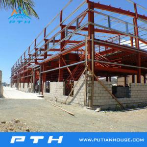 Professional ha diseñado para la construcción de la estructura de acero taller/almacén