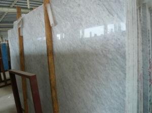 De Italiaanse Witte Marmeren Tegel van Carrara voor de Bevloering van de Muur