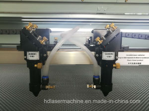 두 배 헤드를 가진 1300X900mm Laser 절단기