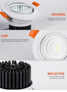 中国2018新しい5W円形LEDのスポットライトDownlight