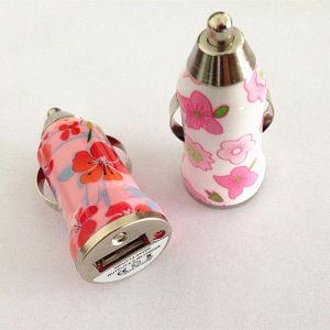 5 В 1 настраиваемый печати через USB автомобильное зарядное устройство для мобильных телефонов