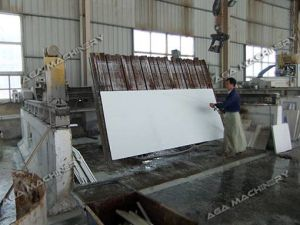 Pont de granit de marbre a vu avec angle de coupe (45 Mitered XZQQ625A)