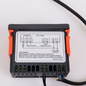 Pantalla LCD Controlador de temperatura PID inteligente